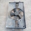 Вентилятор охлаждения радиаторы в сборе с диффузором , диффузор, Mitsubishi Lancer X Мицубиси Лансер 10 х , 2008г.в.