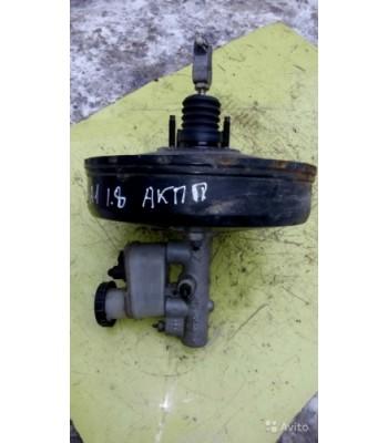 Вакуумный усилитель тормозов главный тормозной цилиндр бачок для тормозной жидкости в сборе Nissan Almera N16