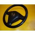 Руль Мазда 3 подушка безопасности рулевое колесо, есть потёртости на самом рулевом колесе Mazda 3