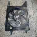 Вентилятор диффузор Рено Меган Классик 2003 г.в. 1.6i АКПП. Вентилятор охлаждения двигателя