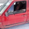 Дверь Гольф 2 1984 г передняя задняя левая правая б/у красного цвета
