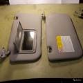 Два солнцезащитных козырька для автомобиля Mitsubishi Lancer X б/у в отличном состоянии