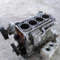 Двигатель 1.6i BLF Skoda Octavia a5 блок