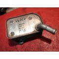 Охладитель масла Ауди Фольксваген Audi а4 2002 ALT. 2.0