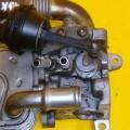 Заслонка воздушная Гольф 5 двигатель BKD 2.0tdi шкода
