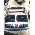 Воздушные дифлектор Пежо 307 2003г.в. 1.6i без кнопок
